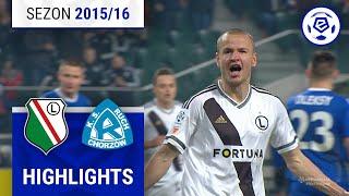 Legia Warszawa - Ruch Chorzów 2:0 [skrót] sezon 2015/16 kolejka 24