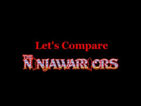Let's Compare ( The Ninja Warriors )