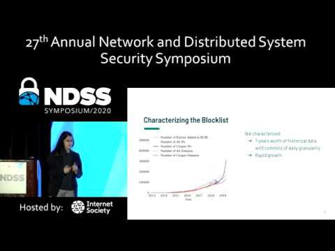NDSS 2020 Decentralized Control: A Case Study of Russia