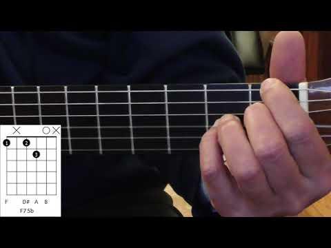 Samba de uma nota sò - Guitar Videotutorial