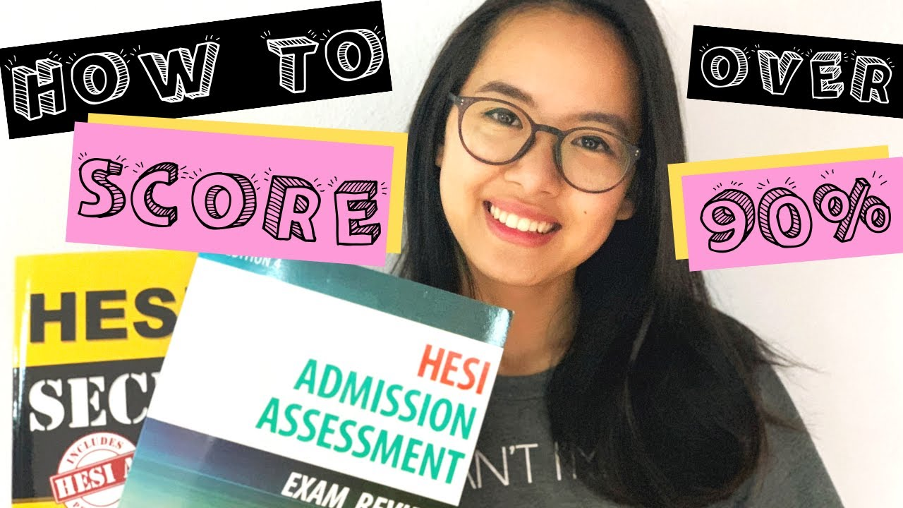 HOW TO SCORE OVER 90% ON THE HESI EXAM IN LESS THAN 2 WEEKS!! (READING,  MATH, ANATOMY SECTIONS) by Elise Chen