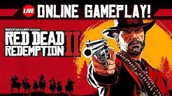 RED DEAD REDEMPTION 2 ONLINE #1 - Ab in den Multiplayer! | RDR2 PS4 Pro Livestream Gameplay German