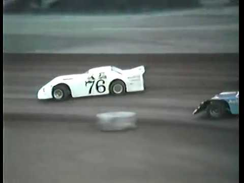 Regular racing program with all classes. - dirt track racing video image