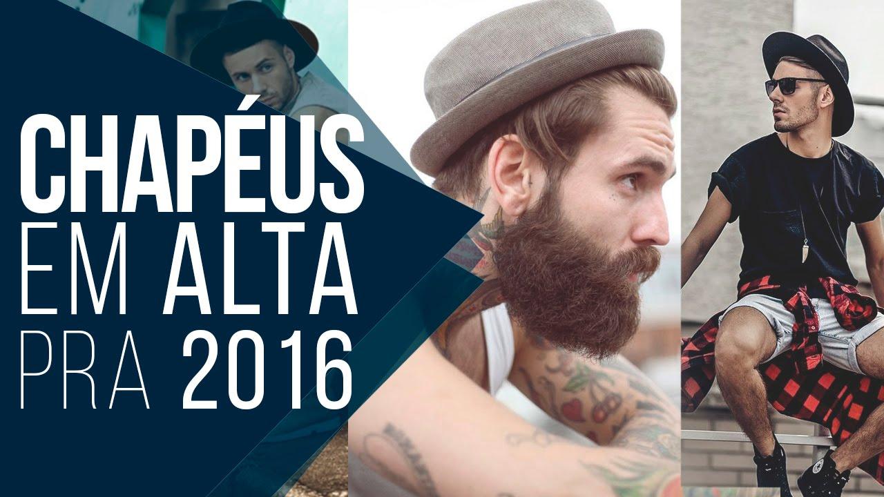 932d7b3aa12d7 Chapéus e Bonés em alta pra 2016 - Tendências Masculinas  11 - YouTube