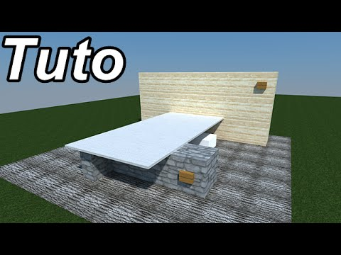 Minecraft tutoriel de d coration int rieur et ext rieur 1 youtube - Deco huis exterieur ...