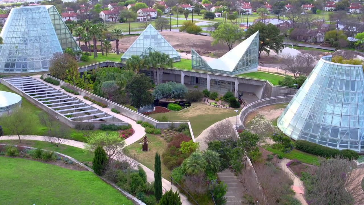 Storybook Houses At The San Antonio Botanical Gardens Youtube