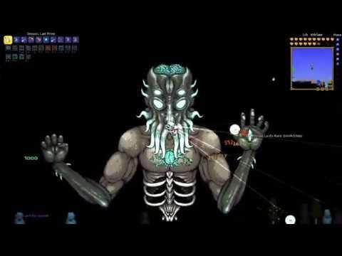 Max DPS Last Prism VS All Normal Mode Bosses 2020 - Terraria 1.3