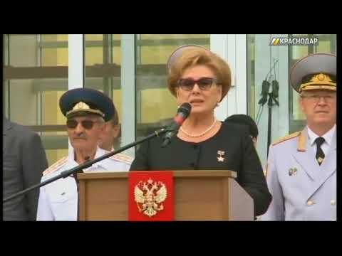 В краснодарское президентское училище торжественно приняли 150 кадетов