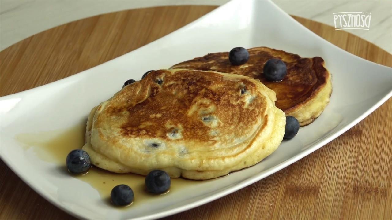 Jogurtowe Pancakes Z Borówkami