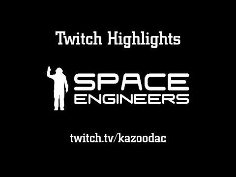Twitch Highlights: Space Engineers: Grinders, Explosions, and Stone