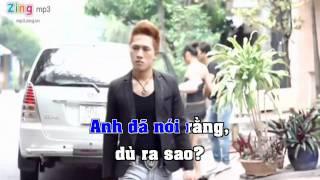 Anh thích em như xưa Châu Hải Phong karaoke YouTube