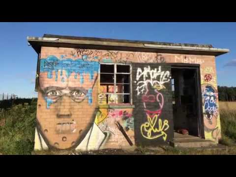 Abandoned RAF Meteorological station explore with loads of Graffiti