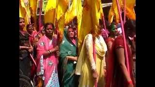 Nishan Yatra in Khatu Shyam  Bilaspur Chhattisgarh