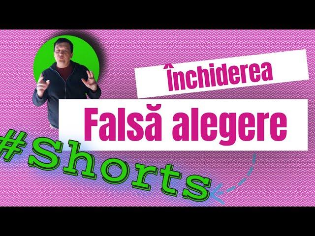 Închiderea falsă alegere#Shorts