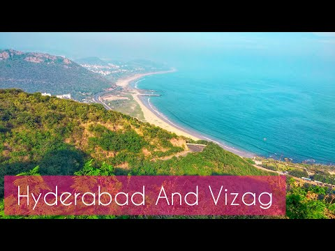 Top Places to visit in Hyderabad and Vizag||Ramoji Film city||Golconda Fort
