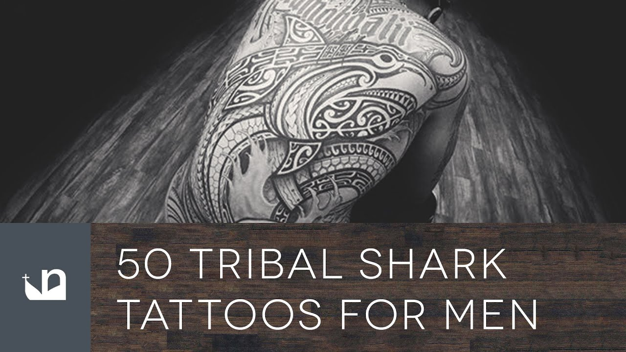 f6944f00a 50 Tribal Shark Tattoos For Men - YouTube