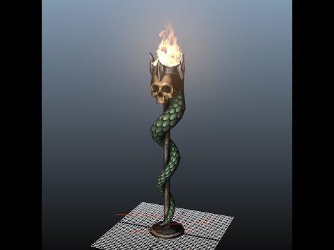 Doomsday Engine 2.0 Fire Shader Prototype