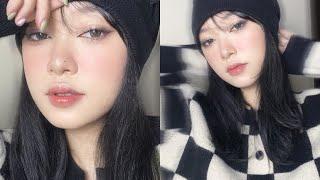 [GRWM] MAKE UP NHƯ DOUYIN (P2)   Cách hack mắt to, gắn mi sợi   LINGMAKEUP
