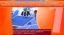 Best Solar Power  (Energy Panels) Installation Company in Mattapoisett Center Massachusetts MA