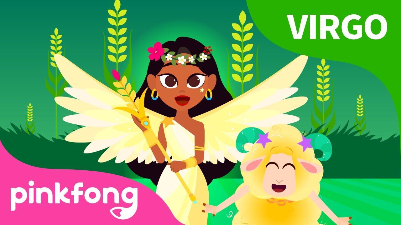 Diosa de la Primavera, Virgo | Historia de los Signos de Estrellas | Pinkfong Cuentos Infantiles