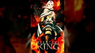 Rightful King - AMV Poster