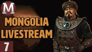 Video Civ 6: Rise & Fall - Mongolia Livestream Gameplay - Part 7 download MP3, 3GP, MP4, WEBM, AVI, FLV Maret 2018