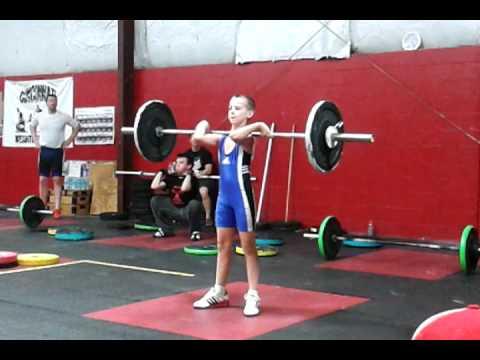 Kyle Holman 26kg 1st C&J. Cincinnati WL Meet 2012