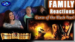 Pirates of the Caribbean 1 | Curse of the Black Pearl | FAMILY Reactions | Fair Use