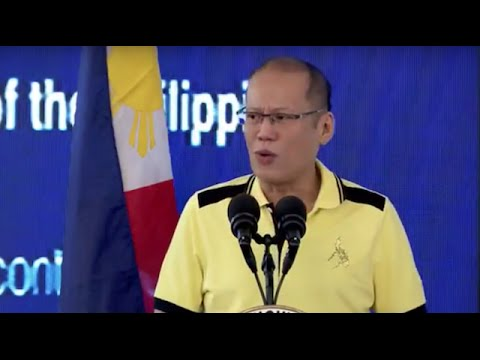 President Benigno Aquino III's speech during LP's VP proclamation
