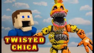 FNAF Twisted Ones TWISTED CHICA Toy Bootleg Funko Articulated Action Figures Five Nights at Freddy's