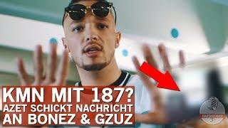 Azet schickt deutliche Botschaft an Gzuz und Bonez MC!