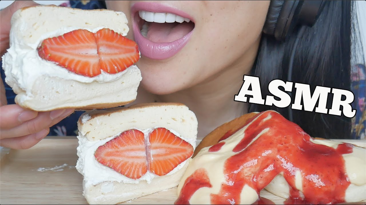 Asmr Fluffy Pancake Strawberry Pancake Sandwich Soft Squishy Eating Sounds No Talking Sas Asmr Youtube By 2 mois ago2 mois ago. asmr fluffy pancake strawberry pancake sandwich soft squishy eating sounds no talking sas asmr