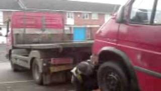 FORD TRANSIT BUS L502 CAD GOES TO BARNSLEY FOR SCRAP