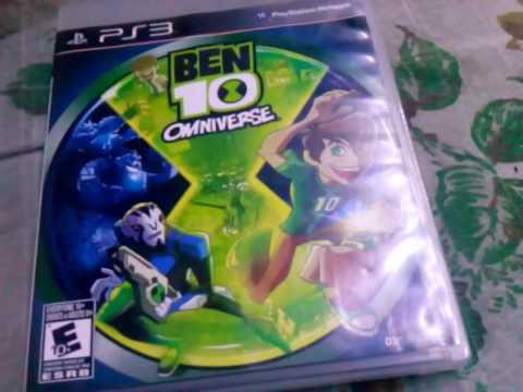 Sorteo de ben 10 omniverse juego de PS3  YouTube