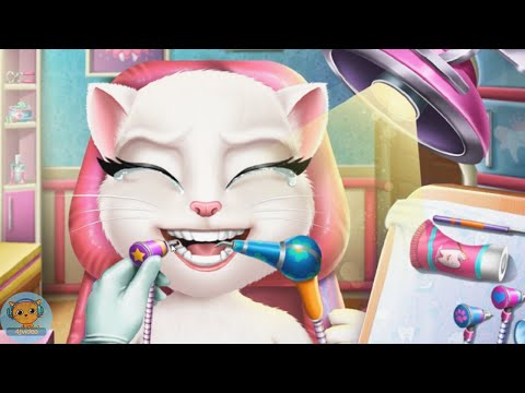 Angela Real Dentist - games videos for kids - 4jvideo