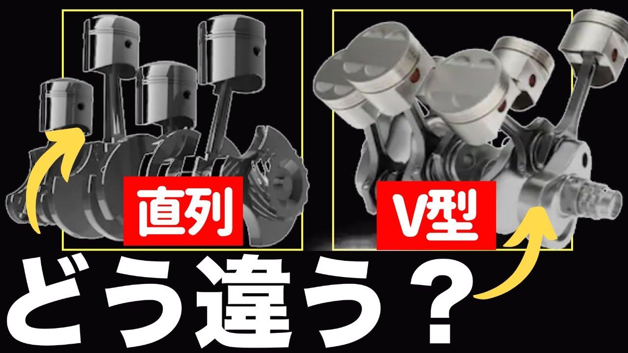 気筒配列で何が変わる?【直列型エンジンとV型エンジン】GT-R BMW
