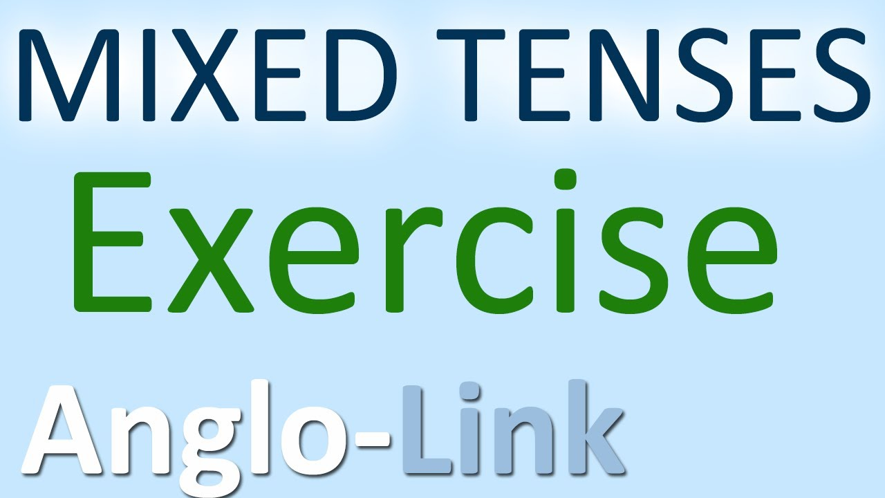 English Tenses Exercise - Grammar Practice - YouTube