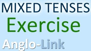 English Tenses Exercise Grammar Practice