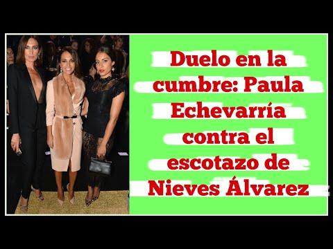 Duelo en la cumbre: Paula Echevarría contra el escotazo de Nieves Álvarez thumbnail