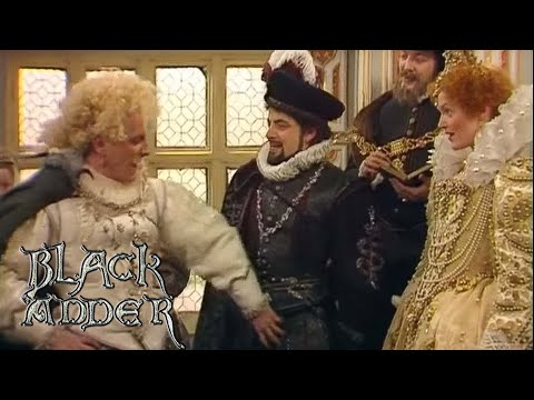Lord Flasheart's Grand Entrance | Blackadder II | BBC Comedy Greats