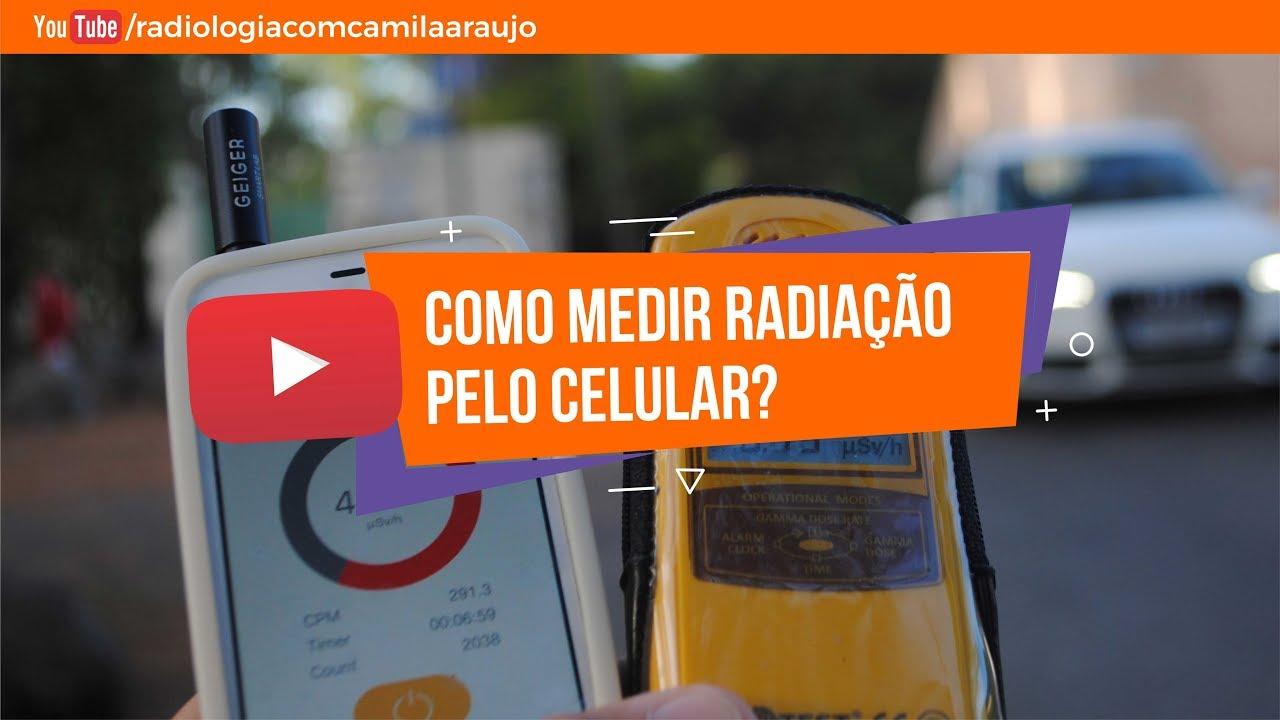 Como medir RADIAÇÃO pelo celular?