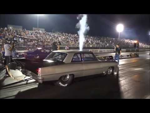 Doc Street Beast vs Brian Britt's Nitrous assassin at the Memphis Street Outlaws no prep