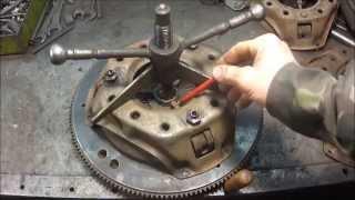 УАЗ. Корзина сцепления. Разборка, ремонт, реставрация.