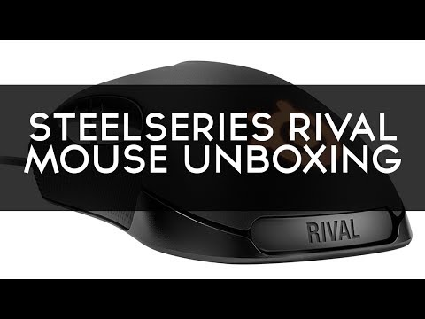 SteelSeries Rival Optical Gaming Mouse Unboxing