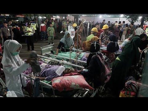 قتلى وجرحى في زلزال يضرب جزيرة جاوة بأندونيسيا  - نشر قبل 1 ساعة