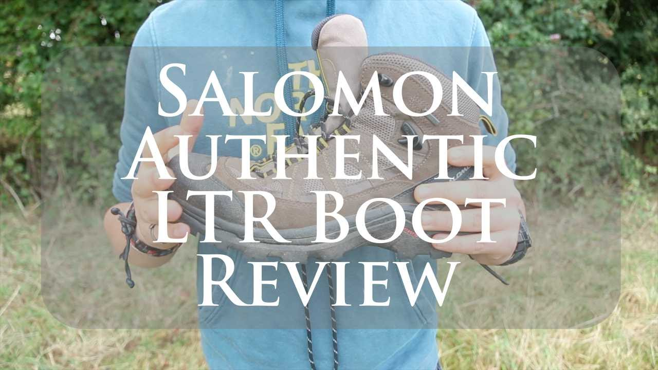 NEW  Salomon Authentic LTR GTX Boot Review - YouTube 1821d9a6892