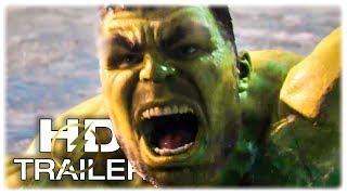 THOR RAGNAROK Hulk Vs Giant Wolf Trailer NEW (2017) Hulk Superhero Movie HD