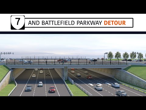 Battlefield Parkway Ten-Month Closure and Detour at Route 7 in Leesburg