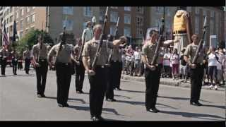 The United States Navy Ceremonial Guard Drill Team - FIMMQ 2012
