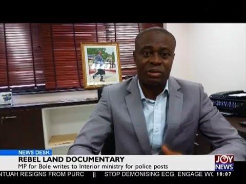 Rebel Land Documentary - News Desk on JoyNews (17-5-17)